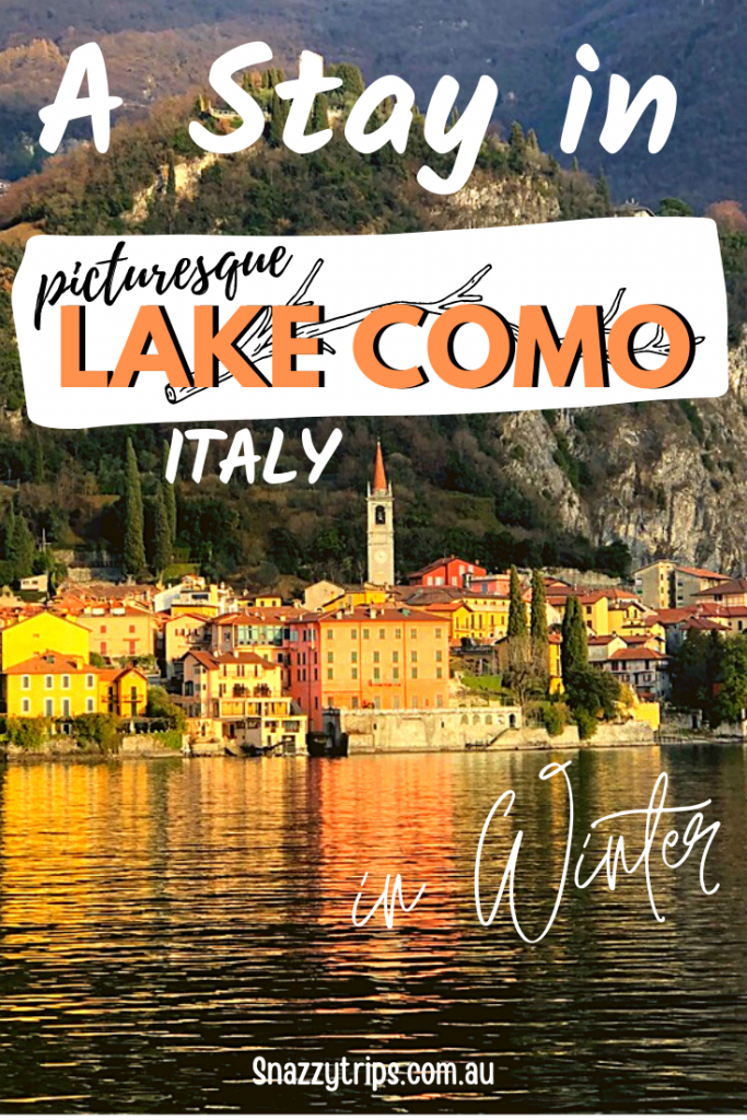 Lake Como ITALY in Winter 5 Snazzy Trips travel blog