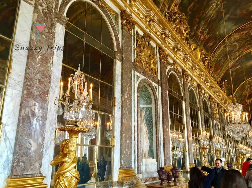 Visiting the magnificent Palace of Versailles FRANCE