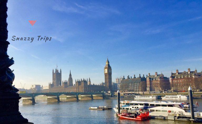 London Landmarks On The River Thames