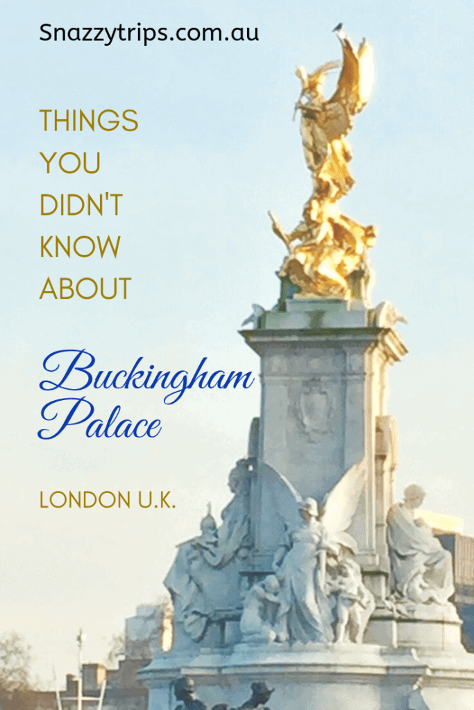 things you didn't know about Buckingham Palace