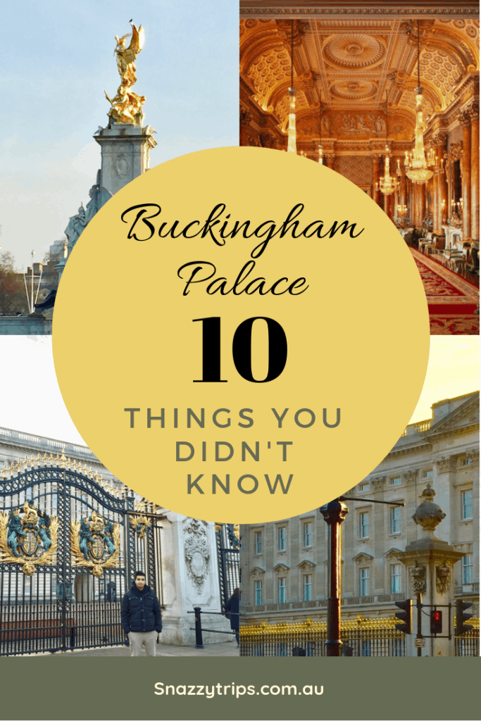 things you don't know about Buckingham Palace