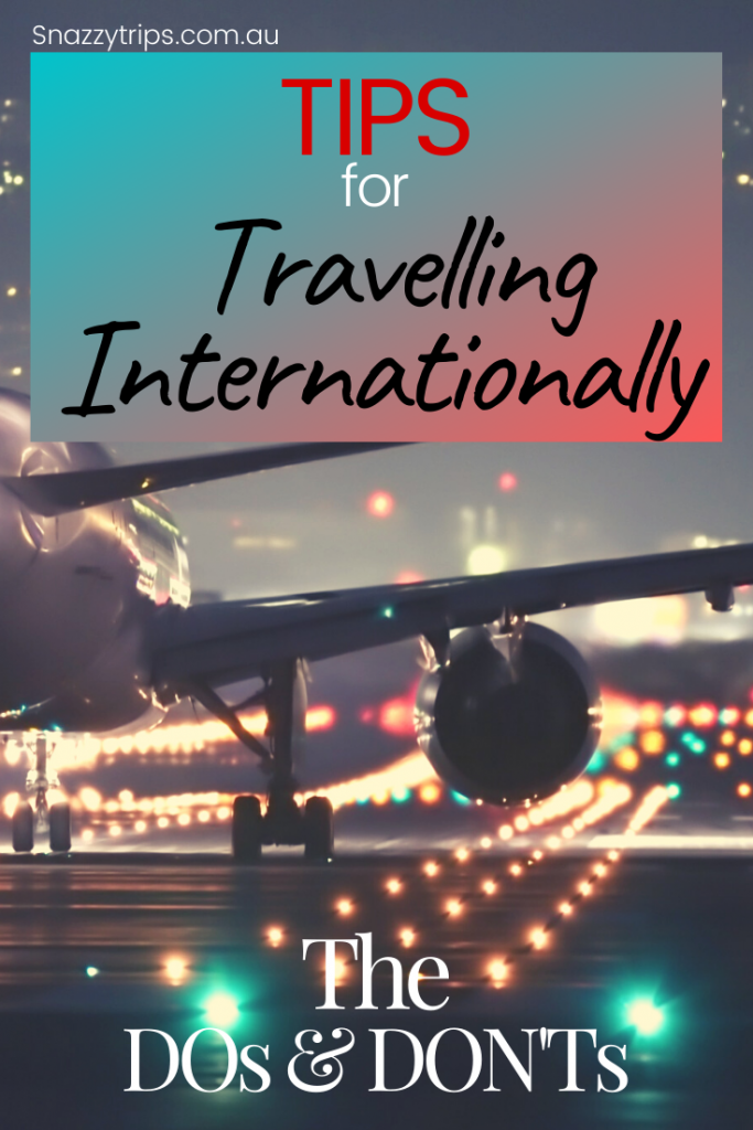 How to prepare for international travel
