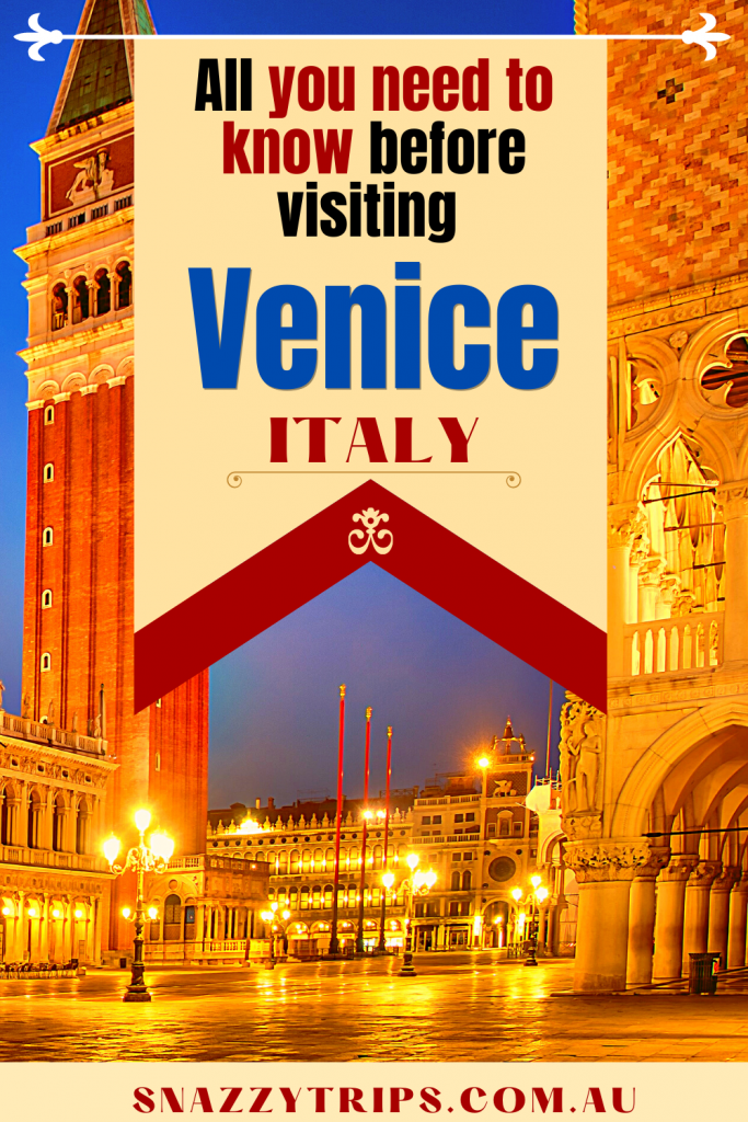 All you need to know - Ultimate guide to Venice Italy