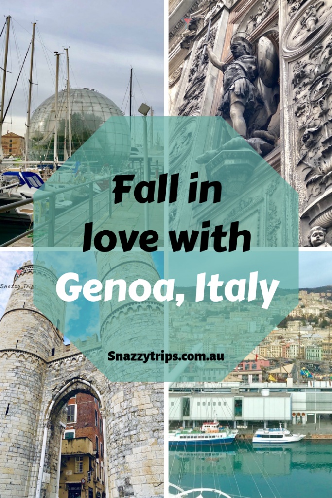 Visit Genoa and fall in love with it.