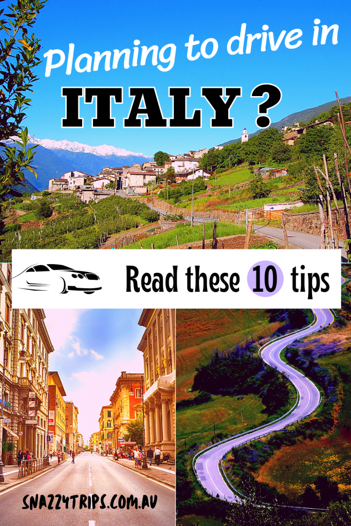 10 tips for driving in Italy
