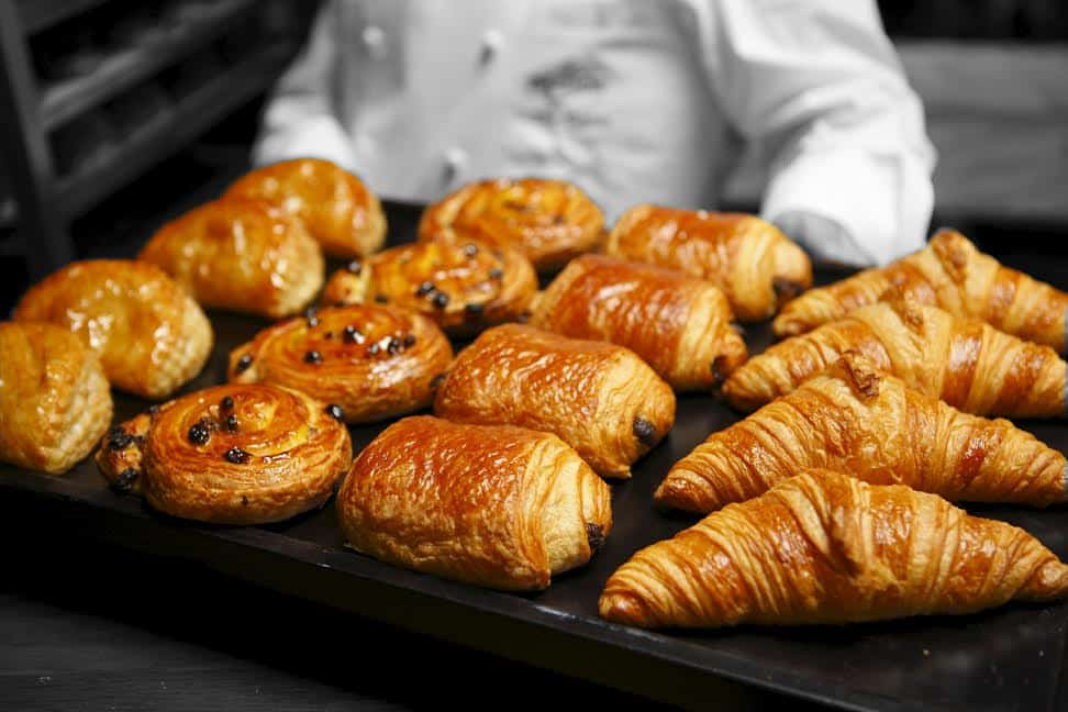 baked pastry goods