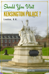 Should you see kensington palace