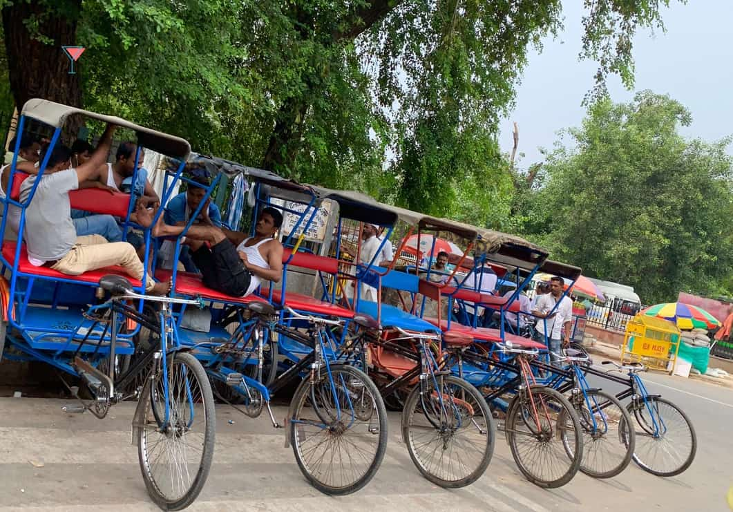 A Rickshaw Ride In Old Delhi