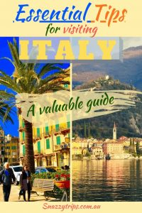 Tips for visiting Italy
