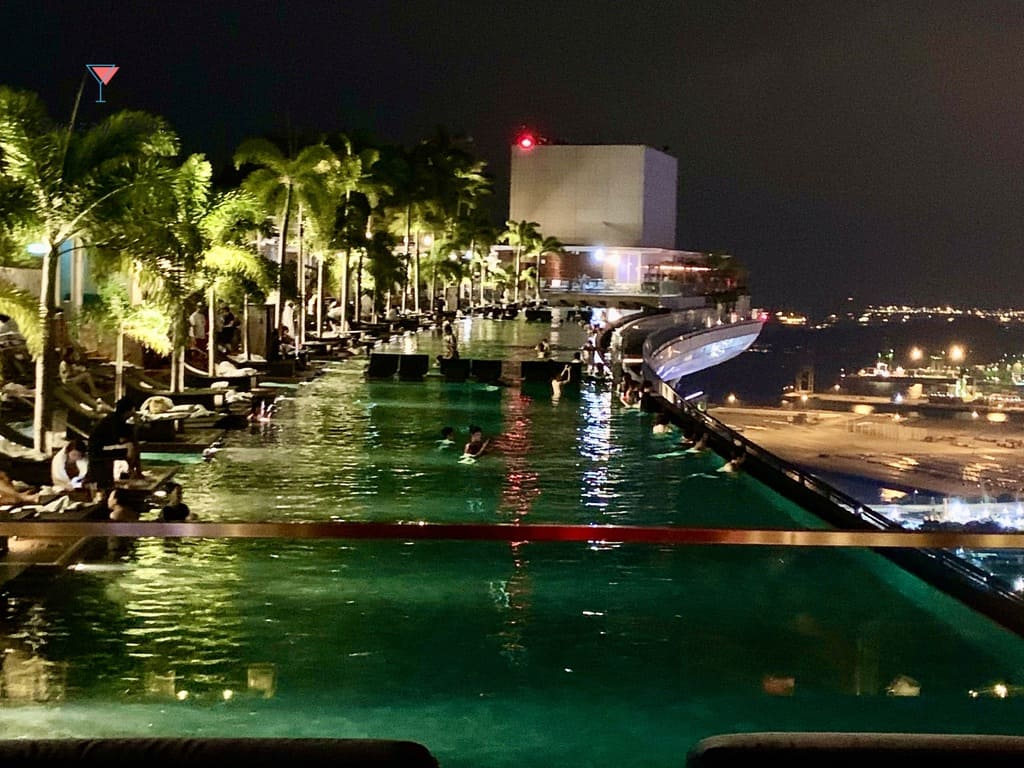 Visit the Marina Bay Sands roof top