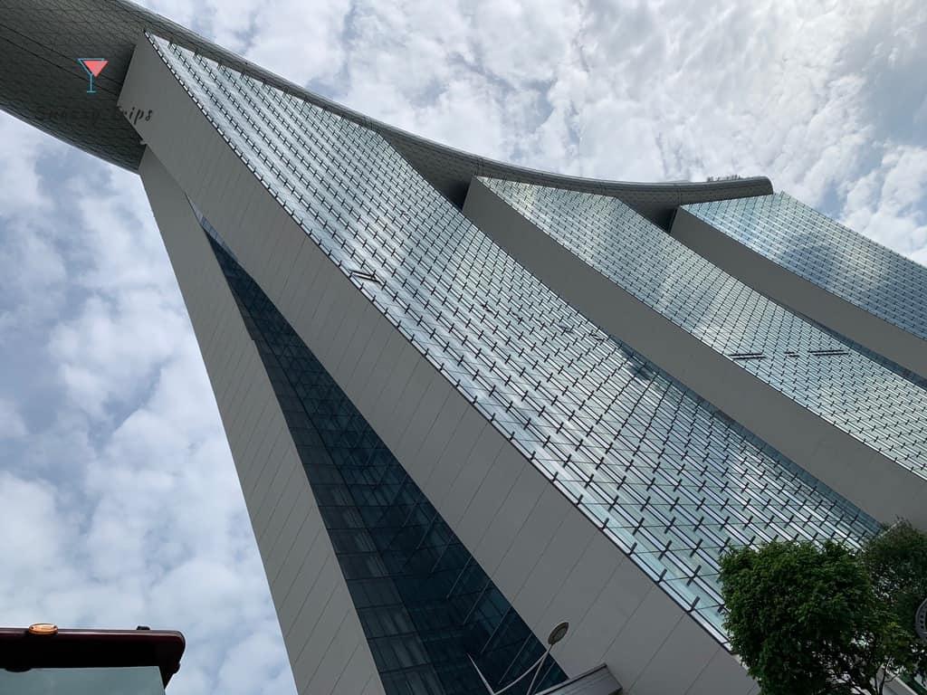 Marina Bay Sands roof top
