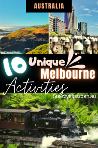 10 Unique Melbourne Activities Australia Snazzy Trips travel blog