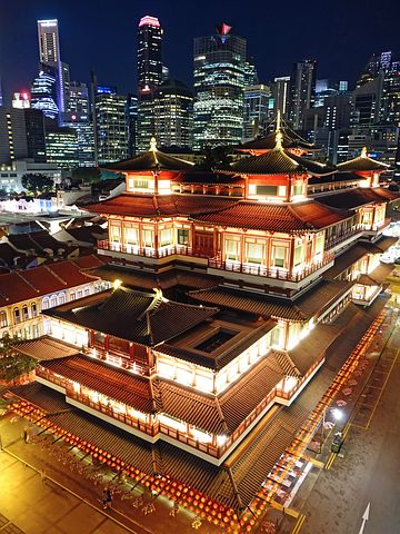 buddha tooth relic temple singapore Snazzy Trips travel blog