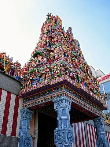 indian temple singapore Snazzy Trips travel blog