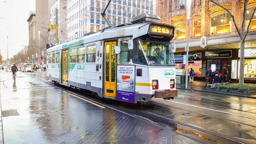 tram melbourne Snazzy Trips travel blog