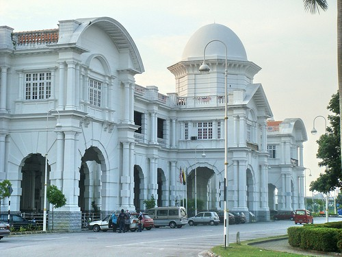 Ipoh railway station Snazzy Trips travel blog