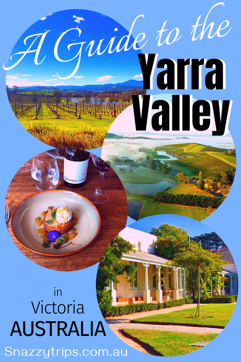 guide to the yarra valley region in Victoria