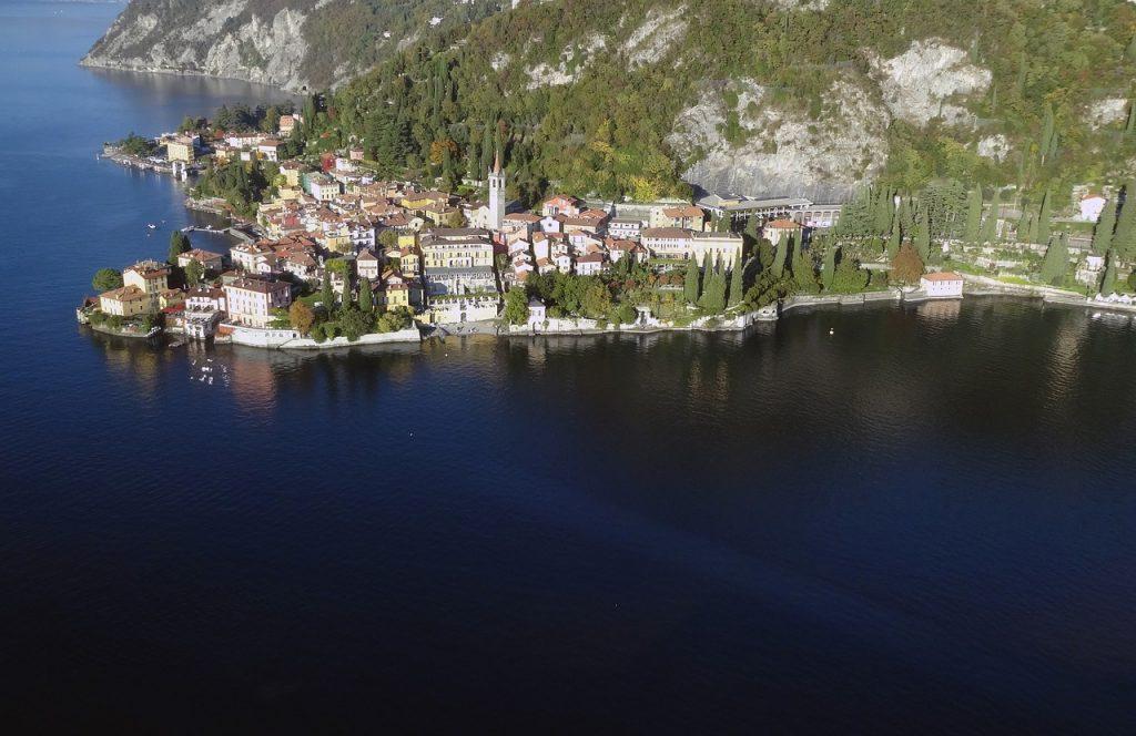 varenna aerial Snazzy Trips travel blog
