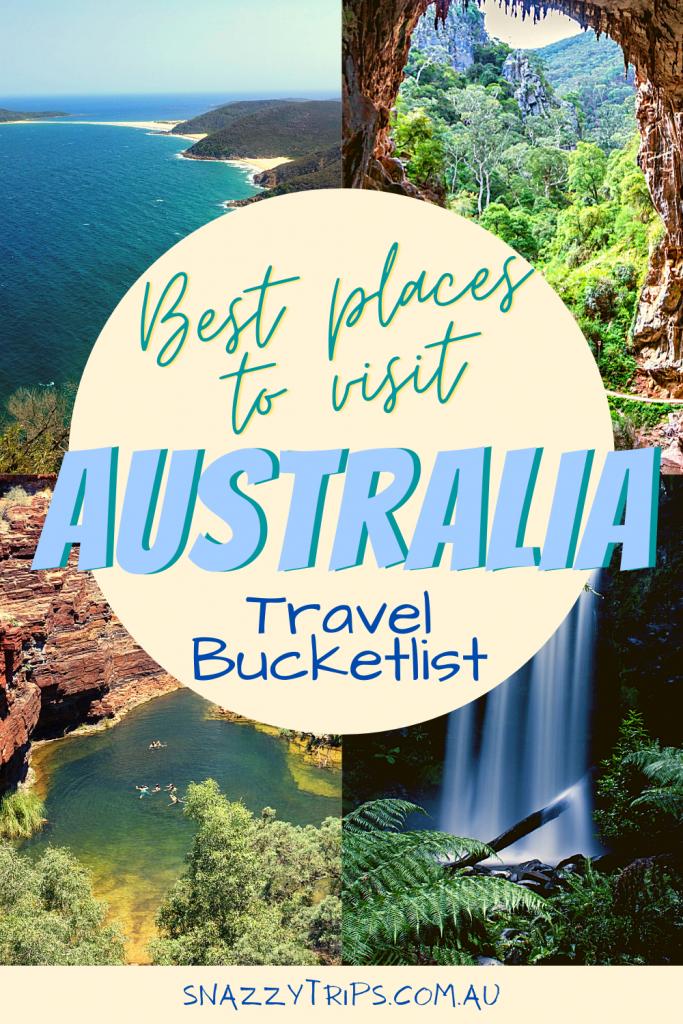 Australia travel bucketlist