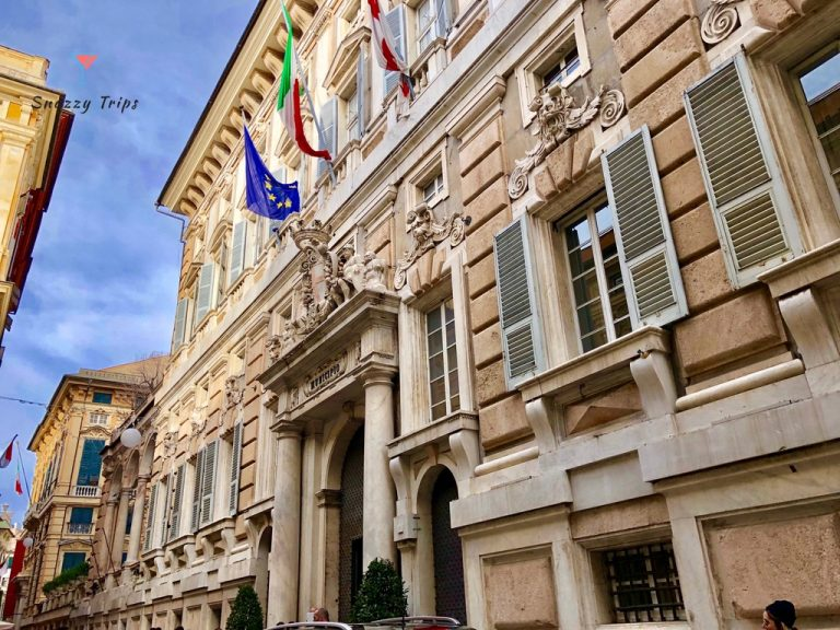 The Stunning Palaces Of The Rolls In Genoa