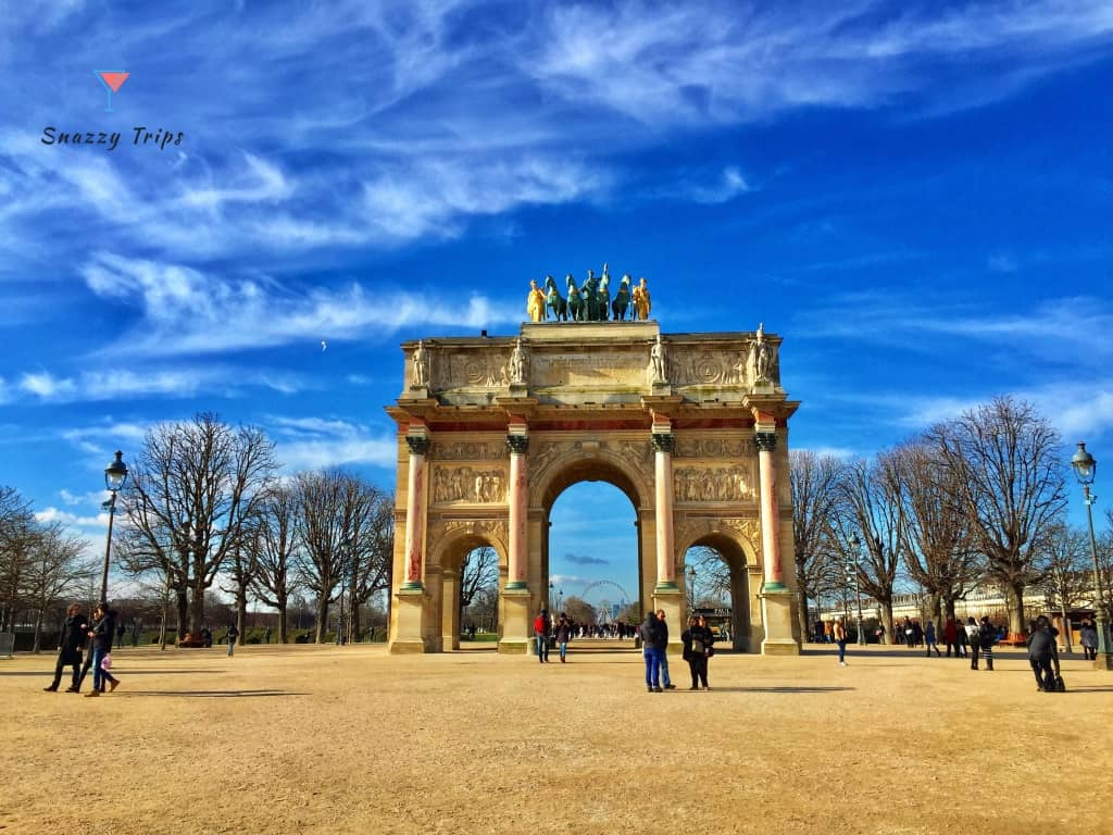 the world's love of triumphal arches