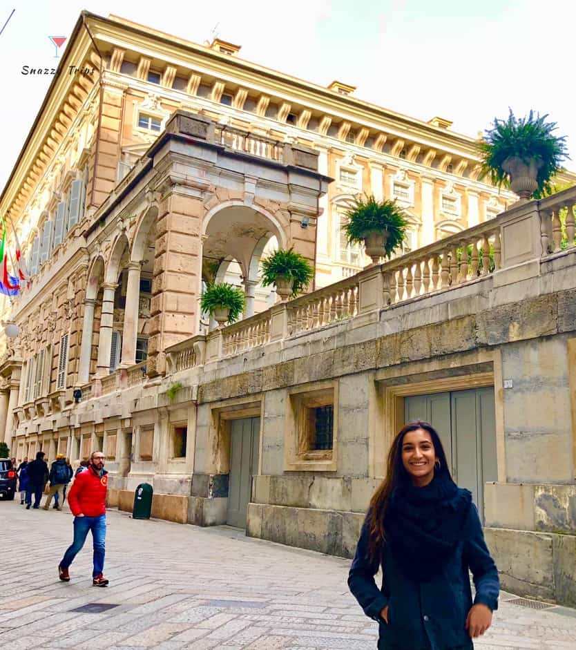Palaces of The Rolls in Genoa, Italy