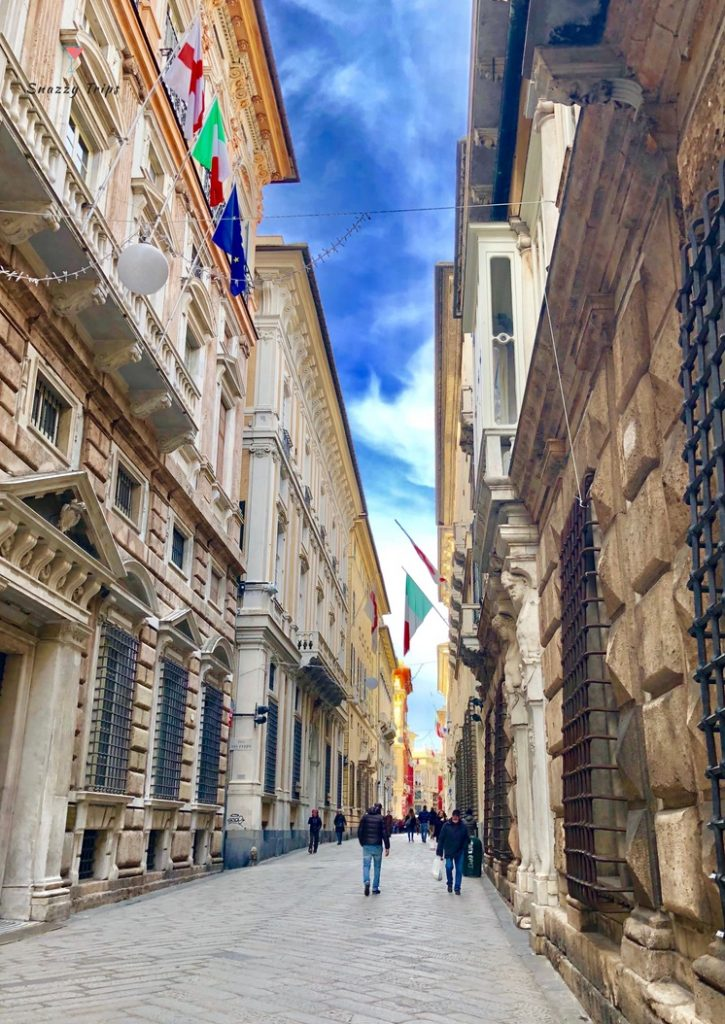 The Stunning Palaces Of The Rolls In Genoa - SNAZZY TRIPS travel blog