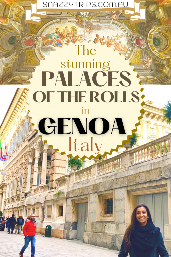 Palaces of the Rolls, Genoa, Italy