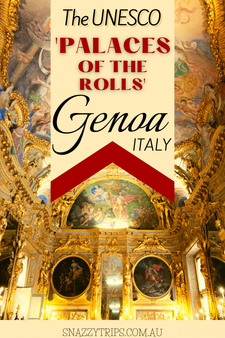 The Palaces of The Rolls in Genoa, Italy