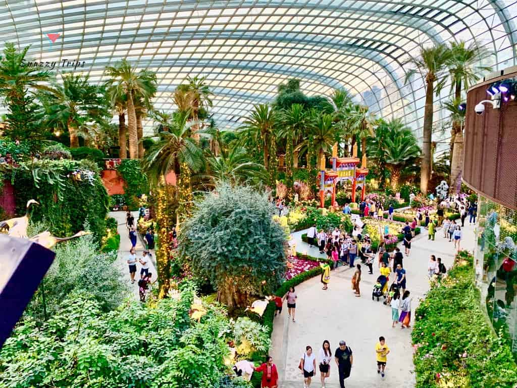 Flower Dome in Singapore