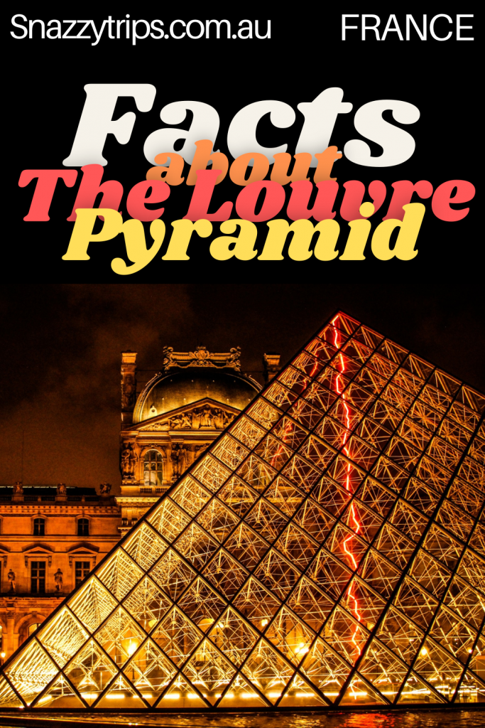 Facts about the Louvre Pyramid, Paris France