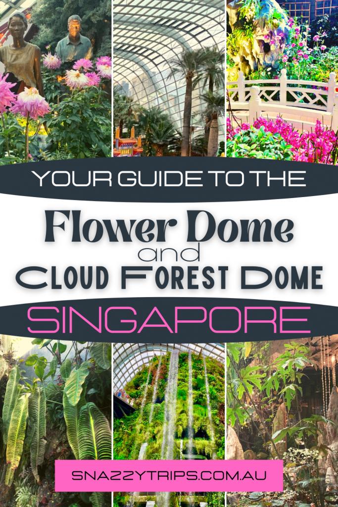 Your guide to the Flower Dome and Cloud Forest Dome in Singapore