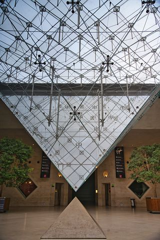 louvre inverted pyramid Snazzy Trips travel blog