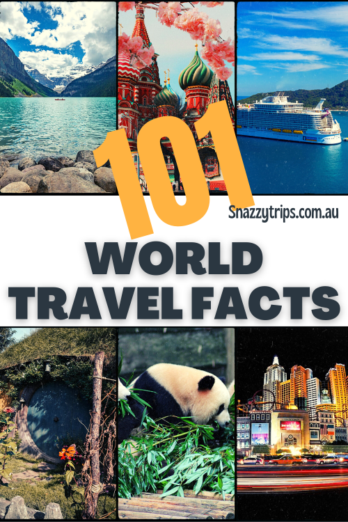101 Gobsmacking world travel facts