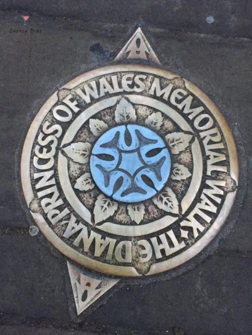 plaque of Diana